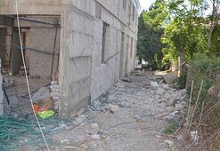 İnşaat halindeki binadan düşen işçi feci şekilde can verdi
