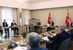 Cumhurbaşkanı Erdoğan, Bitliste bölge valileriyle toplantı yaptı