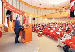 Şahin'den medya konulu konferans