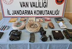 PKKya ağır darbe Patlayıcı ve yaşam malzemesi ele geçirildi