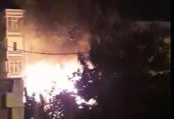 Gecekondu alev alev yandı 6 kişi ölümden döndü
