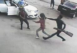 Boşanmak isteyen eşine sokak ortasında kabusu yaşatan koca tutuklandı