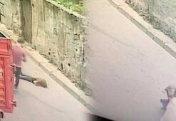 İstanbul'un göbeğinde dehşet Hafif ticari araç minik kızı ezip kaçtı