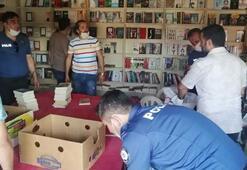 İstanbulda korsan olduğu belirlenen 4 bin 418 kitap ele geçirildi