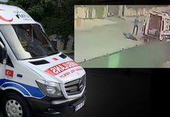 Son dakika İstanbulda önce ambulansın tekerini kesti, sonra şoförü vurdu