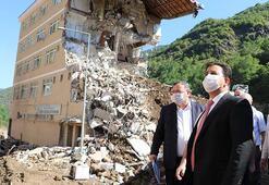 MEB, afet bölgesindeki binaları eğitime hazırlamak için sahada