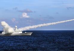 Çin Güney Denizinde füzeler denedi