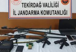 Kaçak silah ticareti yapanların şifresi çözüldü Mermiye çekirdek, silaha cesaret