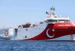 Oruç Reis gemisinin Doğu Akdenizdeki çalışma süresi uzatıldı