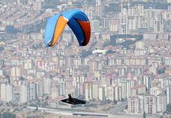 Ali Dağı Yamaç Paraşütü Türkiye Mesafe Şampiyonası Kayseride devam ediyor