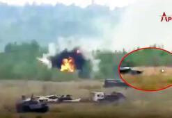 Son dakika... Rusya dünyaya rezil oldu, görüntüler hızla yayıldı Füzeler bir bir düştü...