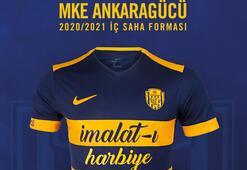 MKE Ankaragücü yeni sezon formalarını tanıttı