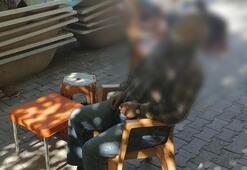 Kahvehanenin sandalyesinde hayatını kaybetti