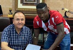 Casimir Ninga resmen Demir Grup Sivasspor'da