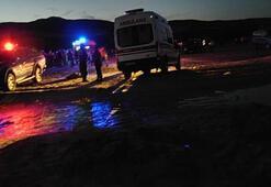 Ispartada göle giren 5 kişiden 2si boğuldu