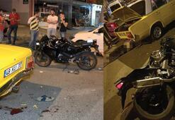 İstanbulda korkunç motosiklet kazası 1 ölü