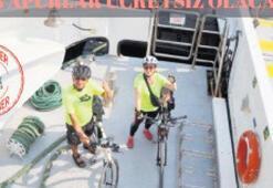 Bisiklet kullanıcıları 5 kuruş ödeyecek