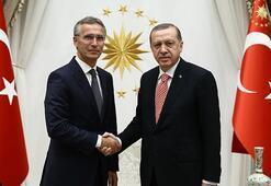 Son dakika...  CumhurbaşkanıErdoğan,  NATO Genel Sekreteri Stoltenberg ile görüştü