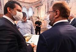 Diyanet İşleri Başkanı Erbaş, Kariye Camiinde incelemede bulundu