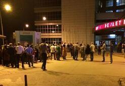 Hastane önünde endişeyle beklediler Kına gecesinde dehşet