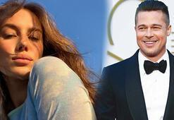 Brad Pittin model sevgilisi Nicole Poturalski evli çıktı