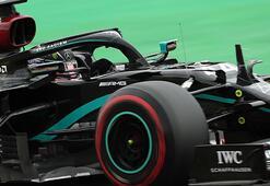Belçikada pole pozisyonu Lewis Hamiltonın