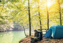 Sonbaharda kamp  bir başka güzel