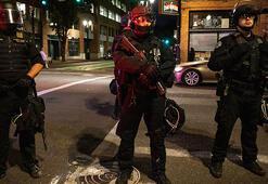 ABD yine yangın yeri Protestoda arbede çıktı: 1 ölü