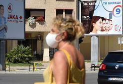 Karadağ'da halk genel seçimler için sandık başında