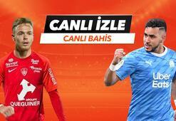 Brest - Marsilya maçı Tek Maç ve Canlı Bahis seçenekleriyle Misli.com'da