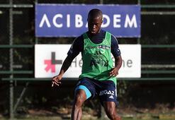 Fenerbahçede yeni transfer Enner Valencia takımla çalıştı