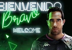 Real Betis, 37 yaşındaki Claudio Bravoyu transfer etti