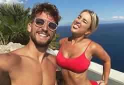 Dries Mertens ile sevgilisinden sosyal medyayı sallayan dans