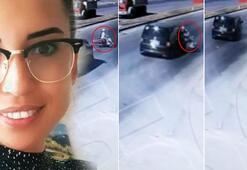 Pelin öğretmenin öldüğü kaza kamerada