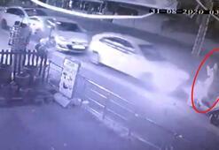 Ukraynalı kadın kabusu yaşadı Zincirleme kaza...