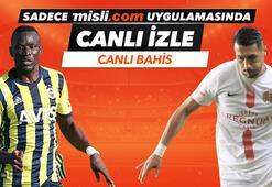 Fenerbahçe - Antalyaspor maçı Tek Maç ve Canlı Bahis seçenekleriyle Misli.com'da