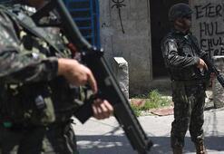 Brezilyada uyuşturucu örgütüne ağır darbe 422 gözaltı