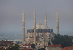 Selimiye Camii semalarında sis