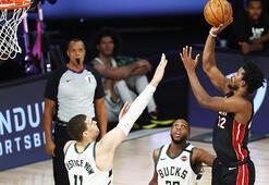 NBA play-off yarı finalinde Heat, Bucks karşısında 1-0 önde