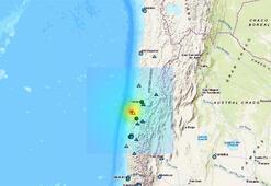 Son dakika haberi... Şilide deprem fırtınası 6.8den sonra 6.3...