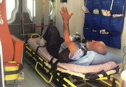 Adıyaman'da türbe bekçisi, ayağından vuruldu