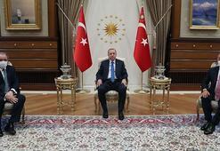 Cumhurbaşkanı Erdoğan, Cezayir Dışişleri Bakanını kabul etti