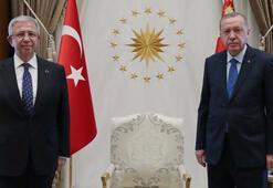 Cumhurbaşkanı Erdoğan ve Mansur Yavaş bir araya geldi