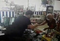 Tırnakçıdan market sahibine garip tehdit