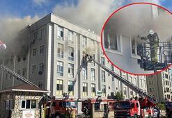 Son dakika... Çekmeköyde korku dolu anlar Tekstil fabrikası alev alev yandı