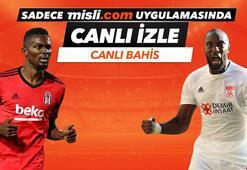 Beşiktaş - Sivasspor karşılaşmasında Canlı Bahis heyecanı Misli.comda
