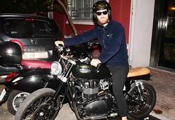Motosiklet tutkunu Oğulcan Engin