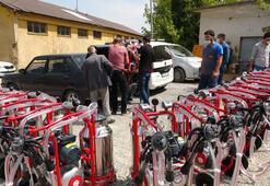 Besicilere devlet destekli 200 süt sağım makinesi dağıtıldı