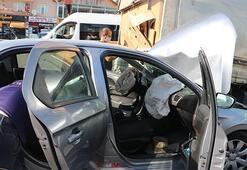 Zincirleme kaza 11 araç birbirine girdi