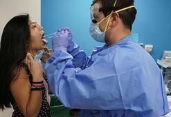 Avrupanın ortasında korkutan corona virüs tablosu Bir günde 8 bin...